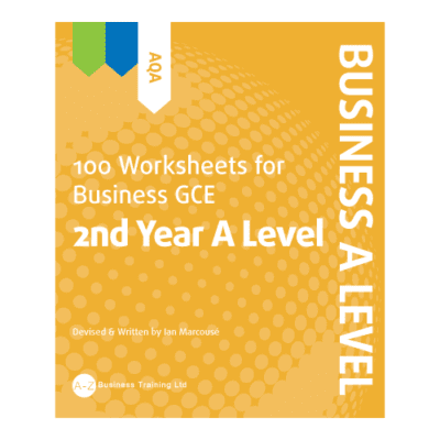 A-Z Business AQA A2 Worksheets