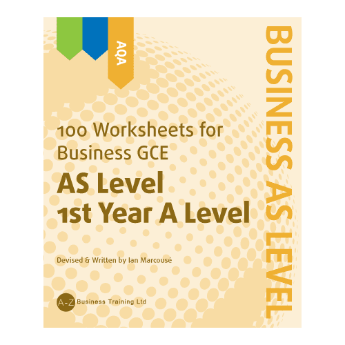 A-Z Business AQA AS Worksheets