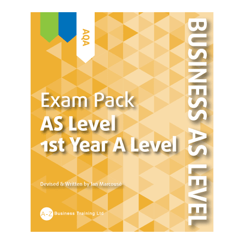 A-Z Business AQA AS Exam Pack