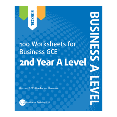 A-Z Business Edexcel A2 Worksheets