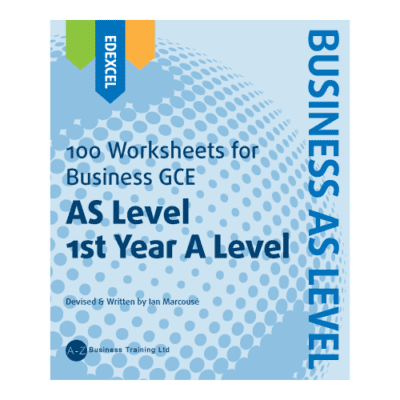 A-Z Business Edexcel AS Worksheets