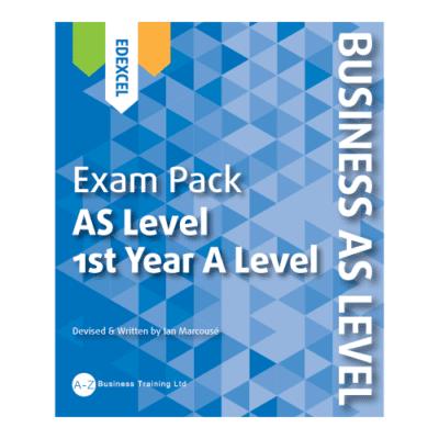 A-Z Business Edexcel AS Exam Pack