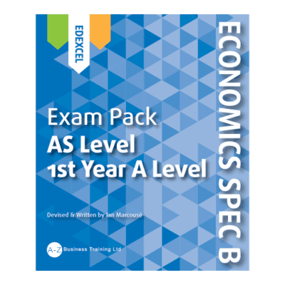 A-Z Economics Spec B Edexcel AS Exam Pack