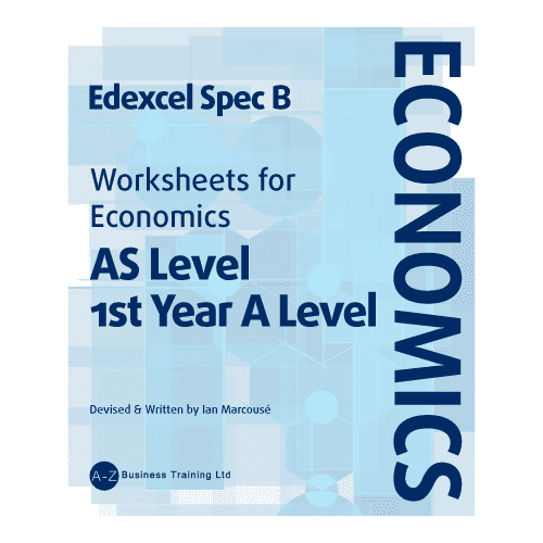 A-Z Economics AS Spec B Worksheets