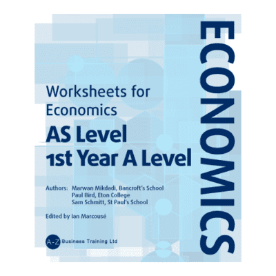 A-Z Economics AS Worksheets