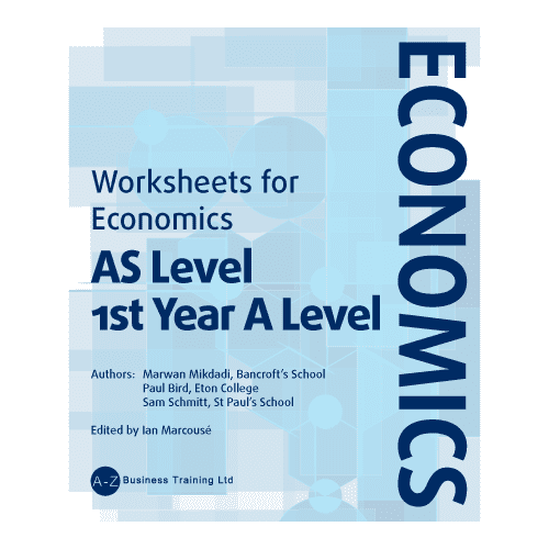A-Z Economics AS Worksheets