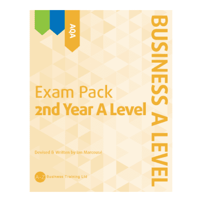A-Z Business AQA A2 Exam Pack