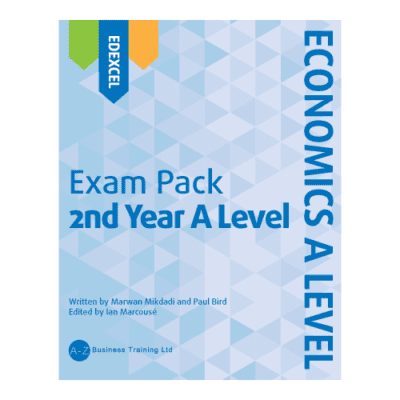 A-Z Economics Edexcel A2 Exam Pack