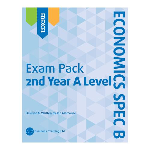 A-Z Economics Spec B Edexcel A2 Exam Pack